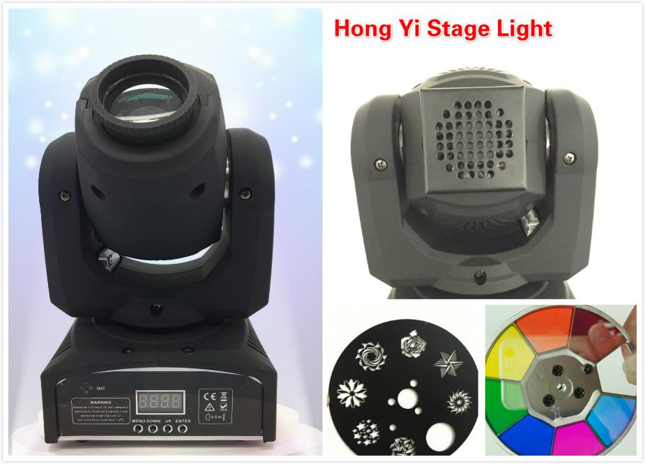 2016 Nuovo caldo spot DMX Spot Moving 8/11 Canali LED 30W Moving Head Fast Shpping