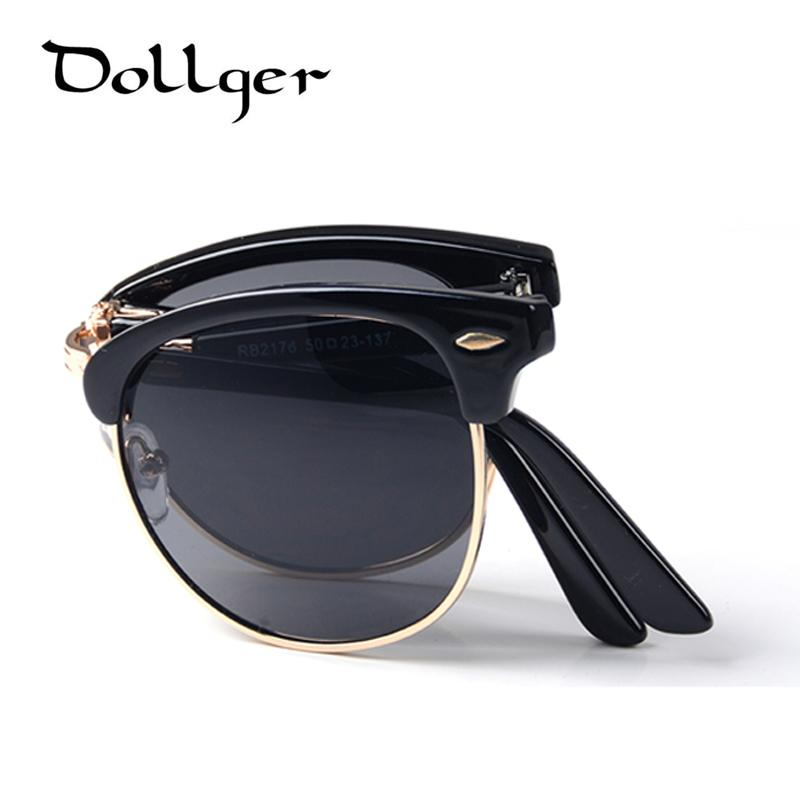 6d47d70f1fcd Wholesale-Dollger Vintage Folding Sunglasses Men Women Classic ...