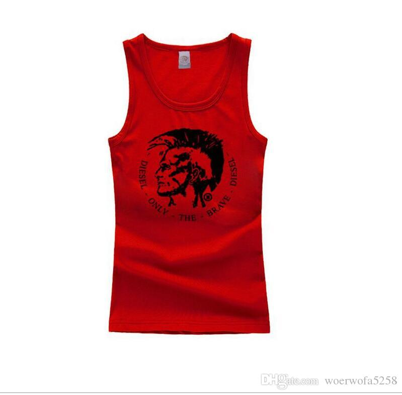 Sıcak Satış Mens Spor Atlet Erkek Baskılı Tankı Üstleri Gömlek Vücut Geliştirme Ekipmanları Spor erkek Altınları Spor Stringer Tank Top Spor