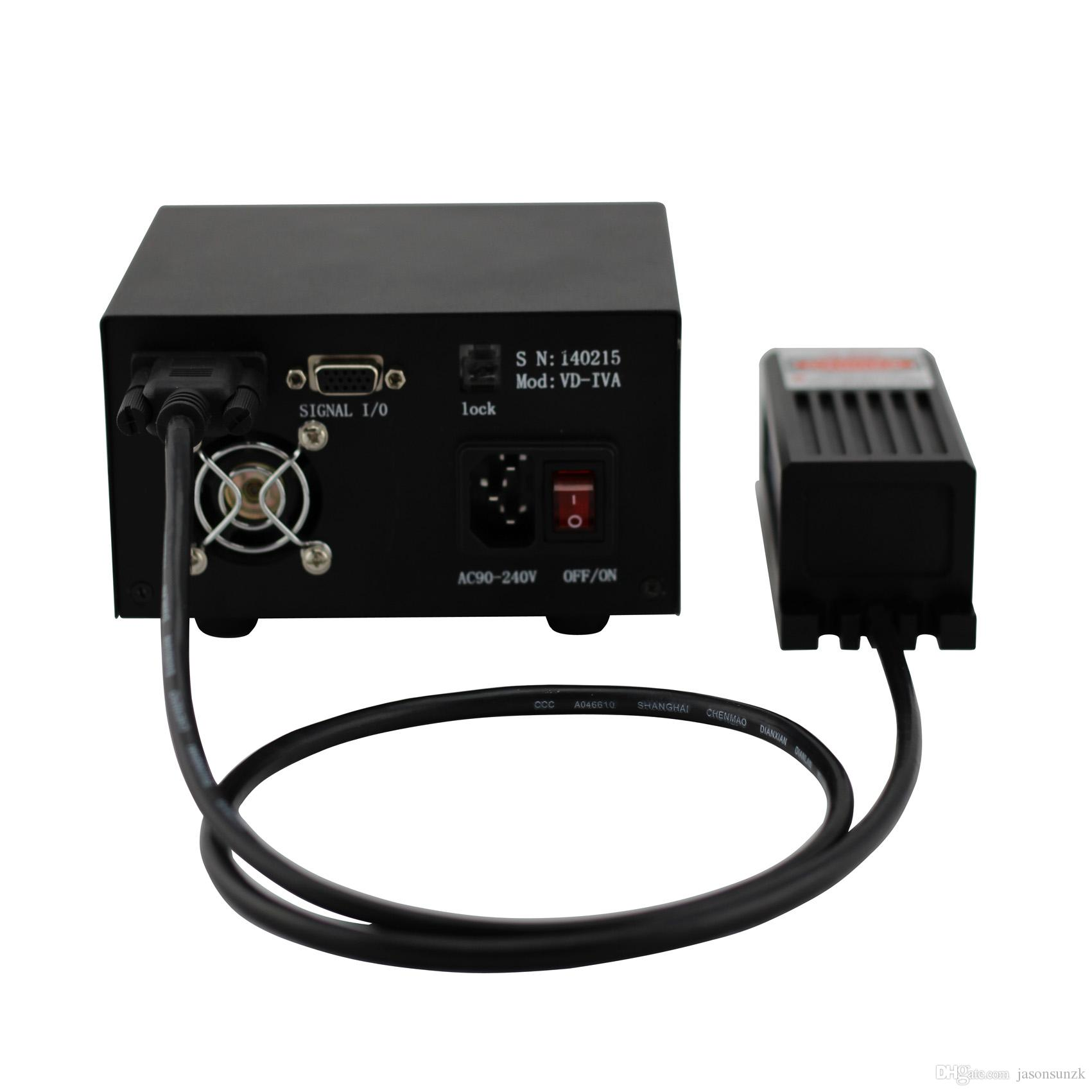 4000mW 532nm laser diodes with power supply TEM00 suit for laser light show scientific research medical treatment biological engineering etc