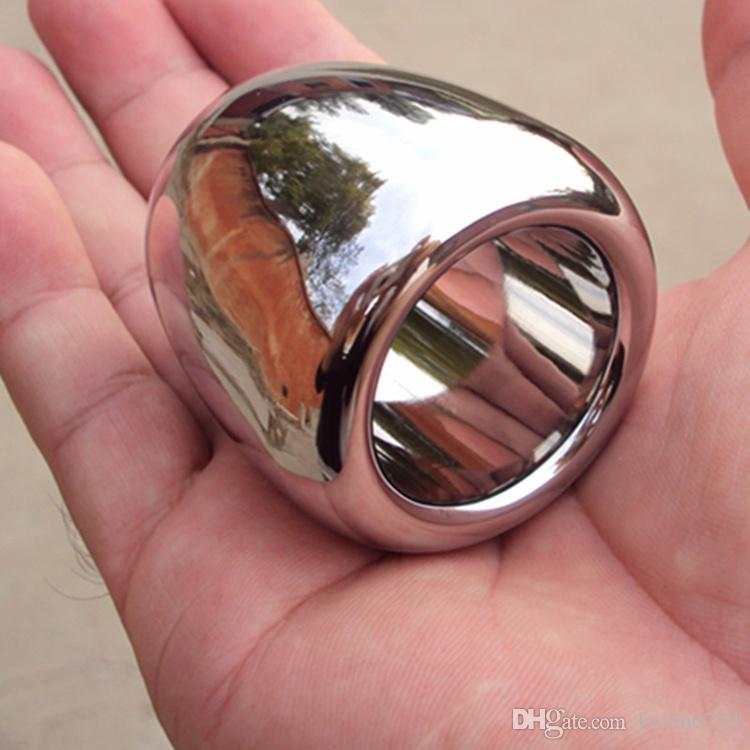 Metal cock ball ring