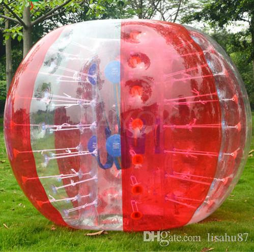 Free Shipping 1.5m For Adults Outdoor Sports Inflatable Bubble Soccer Ball Football Bubble Body Zorb Ball Air Bumper Ball