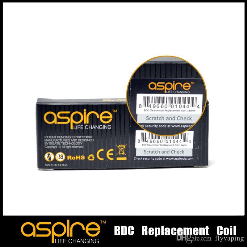 Livraison gratuite + 100% d'origine CE5 1,8 bobines aspirez 2,1 ohms bobine aspirez ets tête de bobine aspire de remplacement BDC