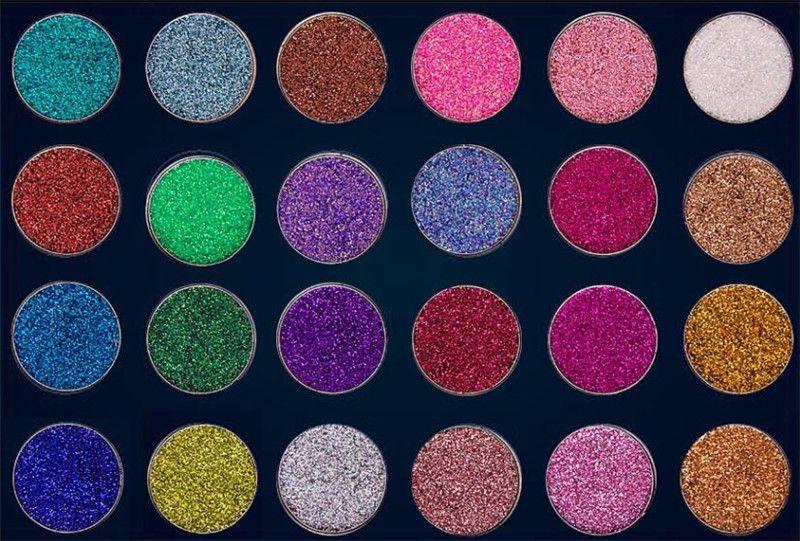 Nouvelle Marque Aurelife Paillettes Poudre Pressée Nake Shadow Palette Mat Shimmer 24 couleur Palette Ombre À Paupières Chaleur Fard À Paupières