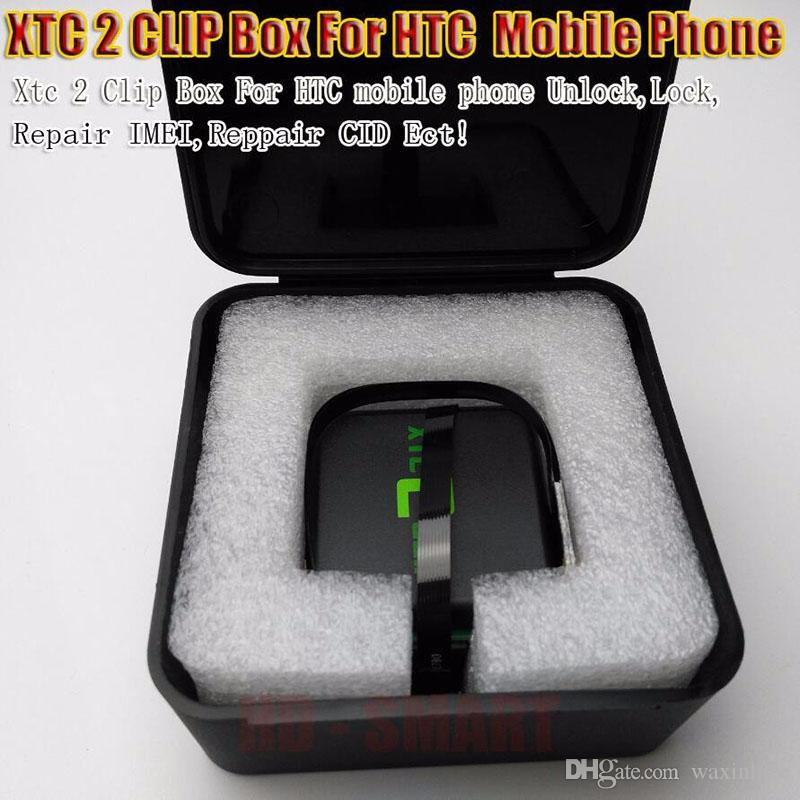 original xtc 2 clip xtc clip Box and Y cable 3 in 1 Flex cable for HTC Unlock Tool Repair Unlock Flash IMEI