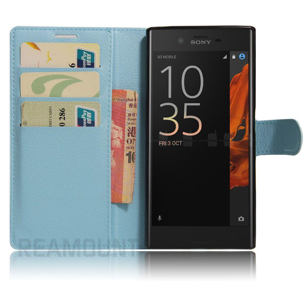 20 Stück für Sony Xperia XZ Fall Luxus Flip Ledertasche für Sony Xperia XZ Z5 Z4 Z3 Vertical Phone Cover Capa