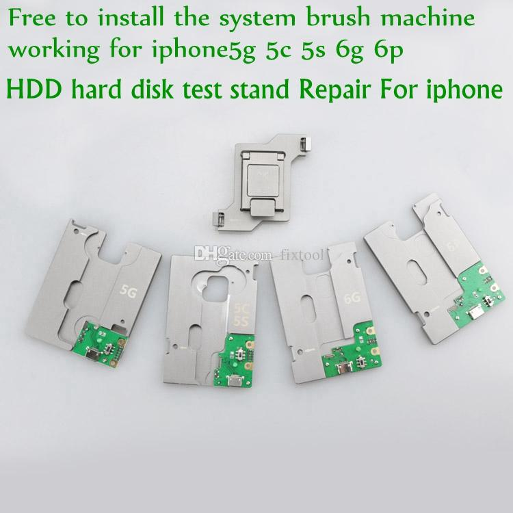 MJ HDD hard disk test stand Repair For iphone 5G 5S 5C 6G 6P SE NAND Flash Memory CHIP IC Motherboard fixture Tester