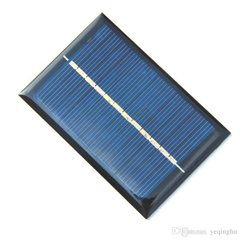 Atacado! 20 pçs / lote Painéis Solares 6 V 100 mA 0.6 W Mini Célula Solar 90x60 MM Para Pequenos Aparelhos de Energia DIY Painel Drop Shipping Frete Grátis