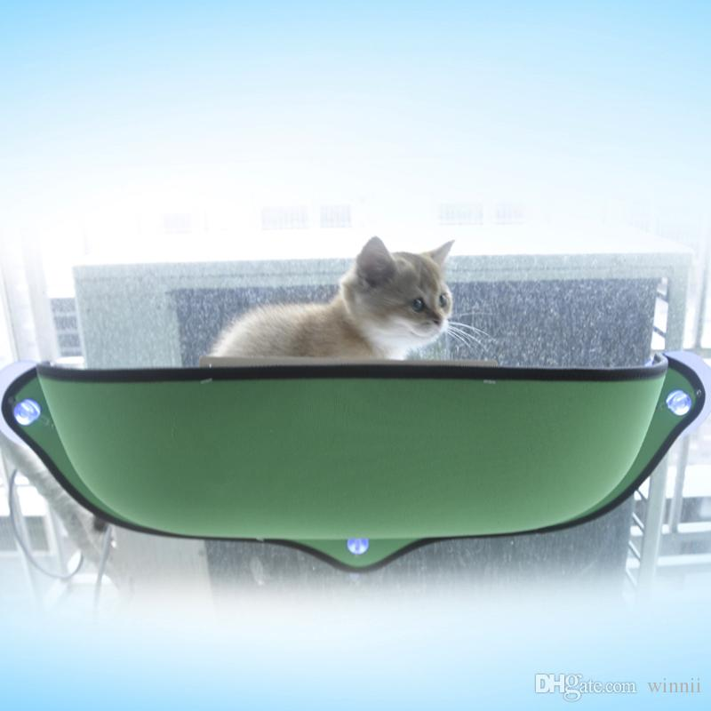 Beds & Sofas Blankets, Mats &Cat Window Mounted Cat Bed Hammock Sofa Mat Cushion Hanging Shelf Seat with Suction Cup