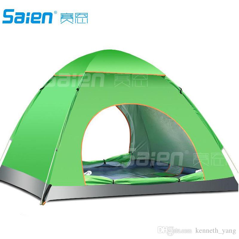 Ultra Light 1.7kg Double Layer Bivvy Tent 3 4 People C&ing Tent For Hiking Trekking Backpacking Fishing Tourist Naturehike Free Dhl Fedex Dog Shelters ...  sc 1 st  DHgate.com & Ultra Light 1.7kg Double Layer Bivvy Tent 3 4 People Camping Tent ...
