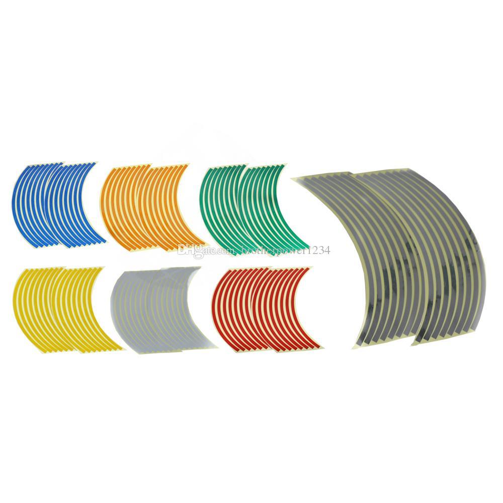 Adesivo riflettente cerchi adesivi da moto Adesivo moto da 10