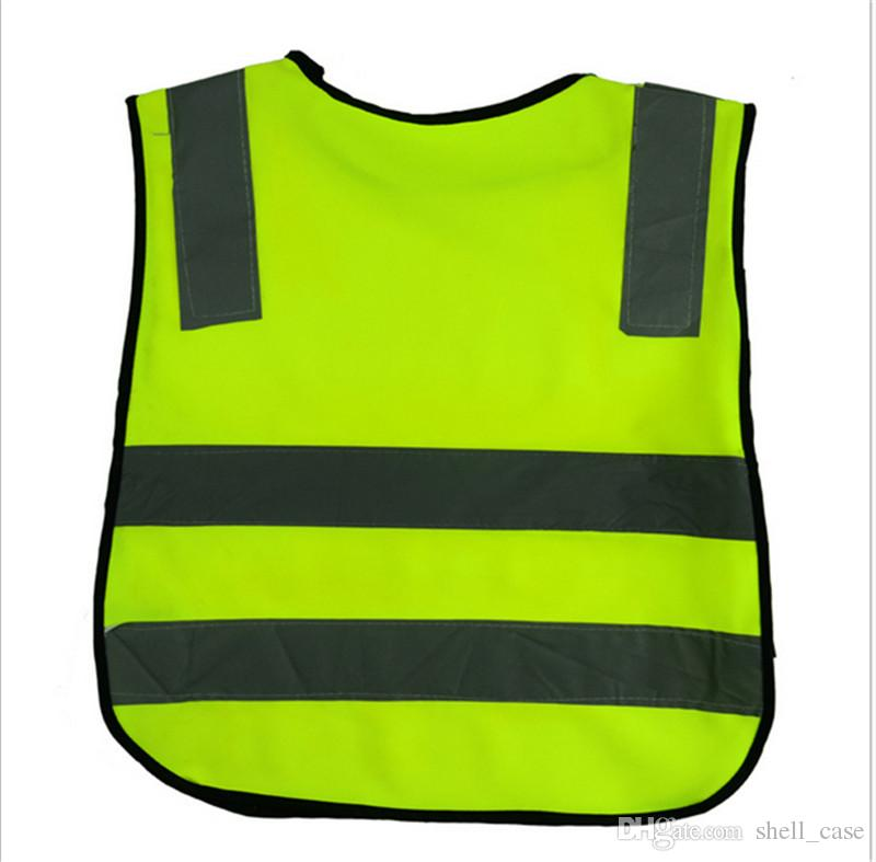 f4cfd98aeb3c Kids Reflective Vest High Visibility Traffic Safety Vest for Student ...