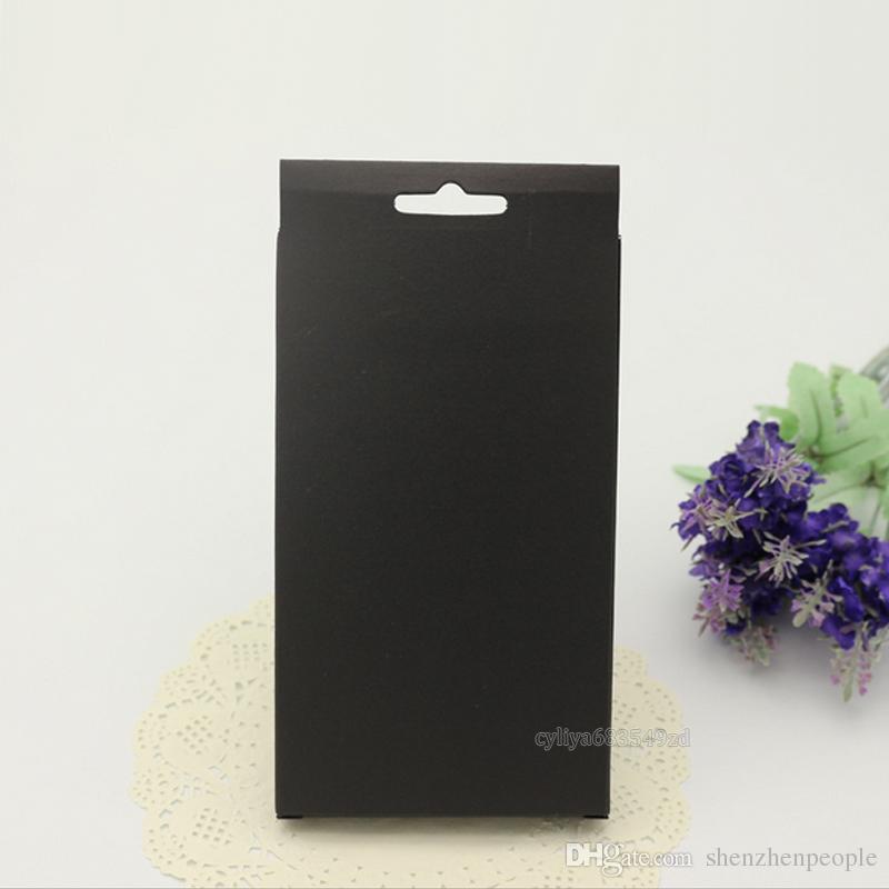 Universal Simples Kraft Papel Marrom Pacote de Varejo Caixa de caixas para telefone case capa htc blackbarry sony para telefone celular e telefone inteligente