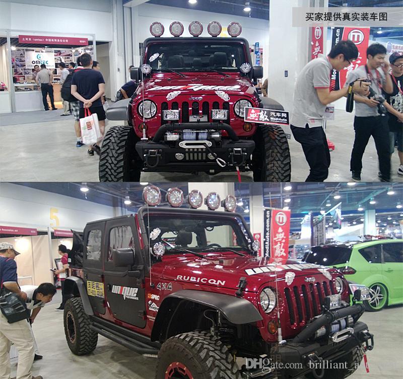 XuanBa 7 pulgadas 35W Hid trabajo luz 12-24V H3 Xenon SUV ATV tractor camión 4WD 4x4 Off Road luz 4