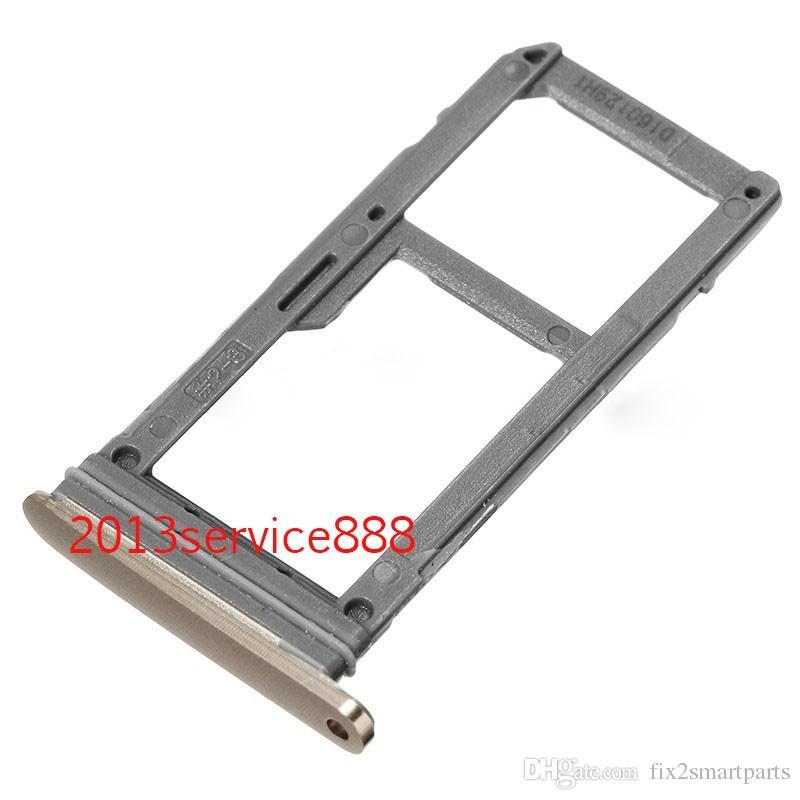 100% New Single Sim Micro SD Memory Card Tray Holder Slot For Samsung Galaxy S7 G930 s7 edge G935