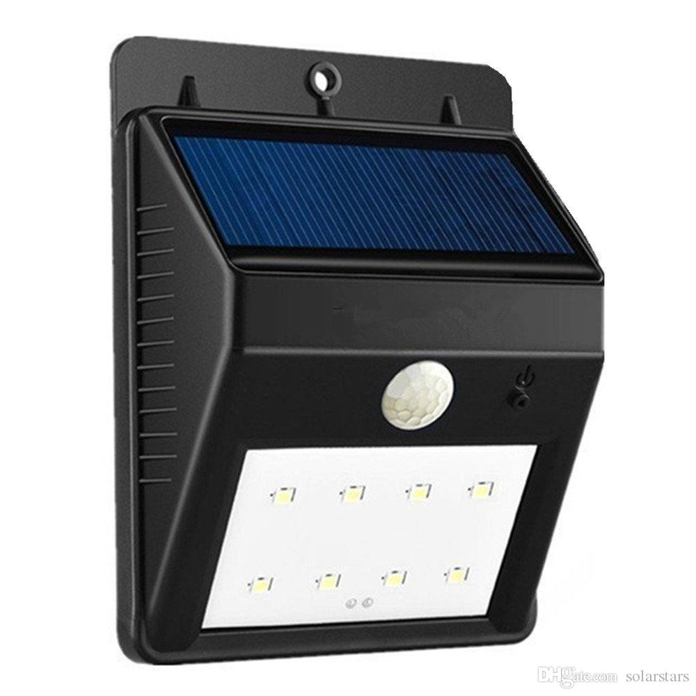 2018 solarstars solar motion sensor light 8 led waterproof wall 2018 solarstars solar motion sensor light 8 led waterproof wall light security lights with motion sensor 2 modes garden patio built in battery from aloadofball Choice Image