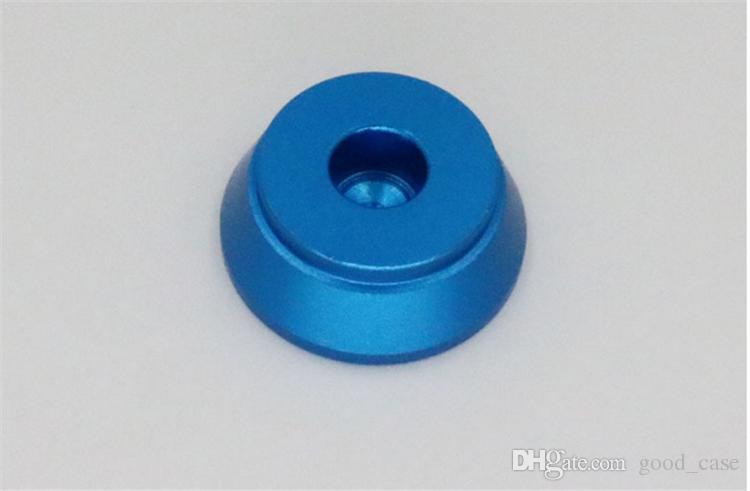 Clearomizer Display Base Atomizer Stand Soporte de aluminio para RDA 510 Aluminium Metal Base para RBA 510 peek aislador exposición Vape