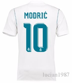 75f99d168af 1718 Real Madrid TOP Thai Quality Luka Modric Customized Soccer Jerseys  Discount Cheap Football Jerseys BENZEMA RONALDO Football Shirts