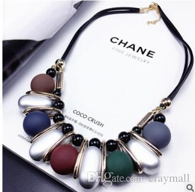 97f84fc01a2f Geometry Circular Triangle Gem Sweater Chain Collarbone Chain Necklace  Clavicle Chain Female Accessories Pendant Necklace Geometry Gem Necklace  Circular ...