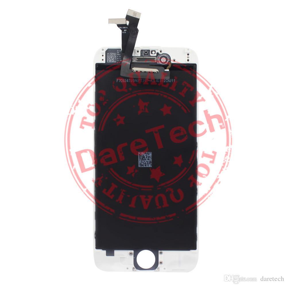 شاشة LCD لفون 6 جودة عالية اللمس لوحات شاشة محول الأرقام إصلاح الجمعية كاملة مع حزمة رغوة