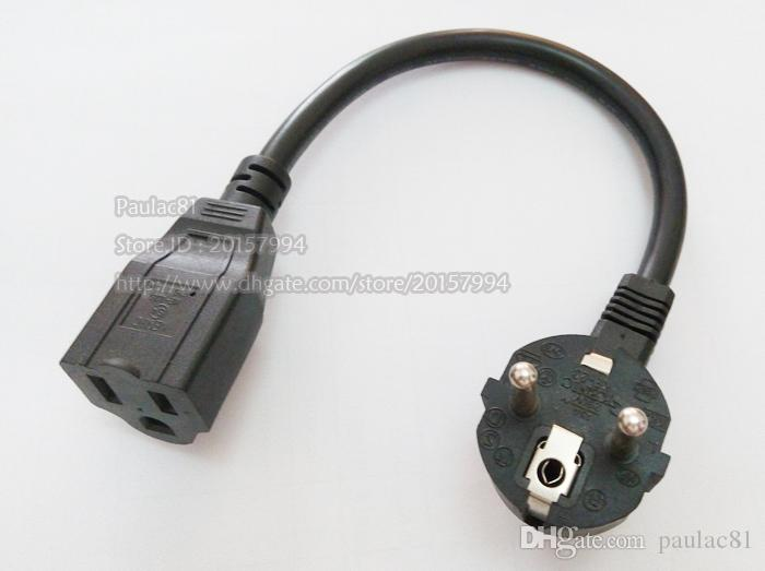 Monitor Kabel Usa 3pin Nema 1 15r Buchse Zu 90 Grad Abgewinkelt ...