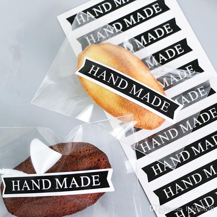 2019 new arrival handmade chocolate food gift tags labels cake
