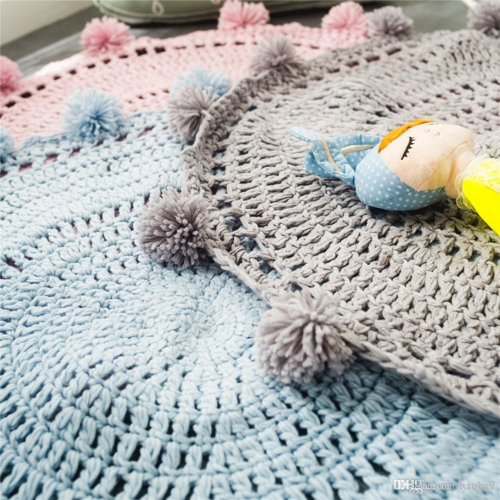 Wholesale 2017new Crochet Round Rugs And Carpets For Children Room ...
