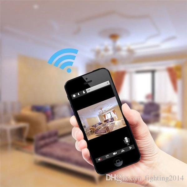 WIFI Illuminazione da tavolo Telecamera IP con clip Telecomando intelligente Lampada da tavolo fotocamera 1080P Motion Detect Video Recorder Sorveglianza di sicurezza domestica