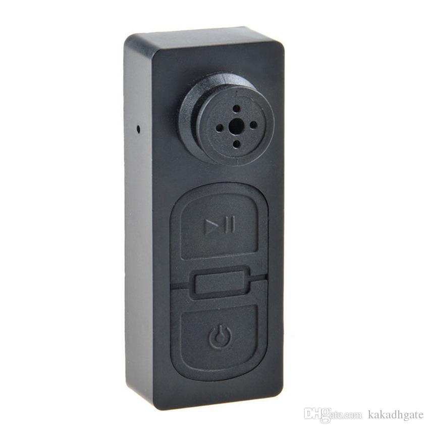 720P Pocket Mini Camera Clothes Button Mini DV Portable Camcorder Video Recorder with Voice Recording S918