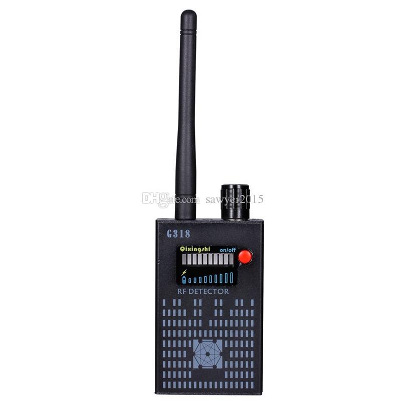 G318 يده كاشف كاشف لاسلكي rf إشارة cdma إشارة كاشف حساسية عالية كشف عدسة الكاميرا / gps محدد جهاز مكتشف