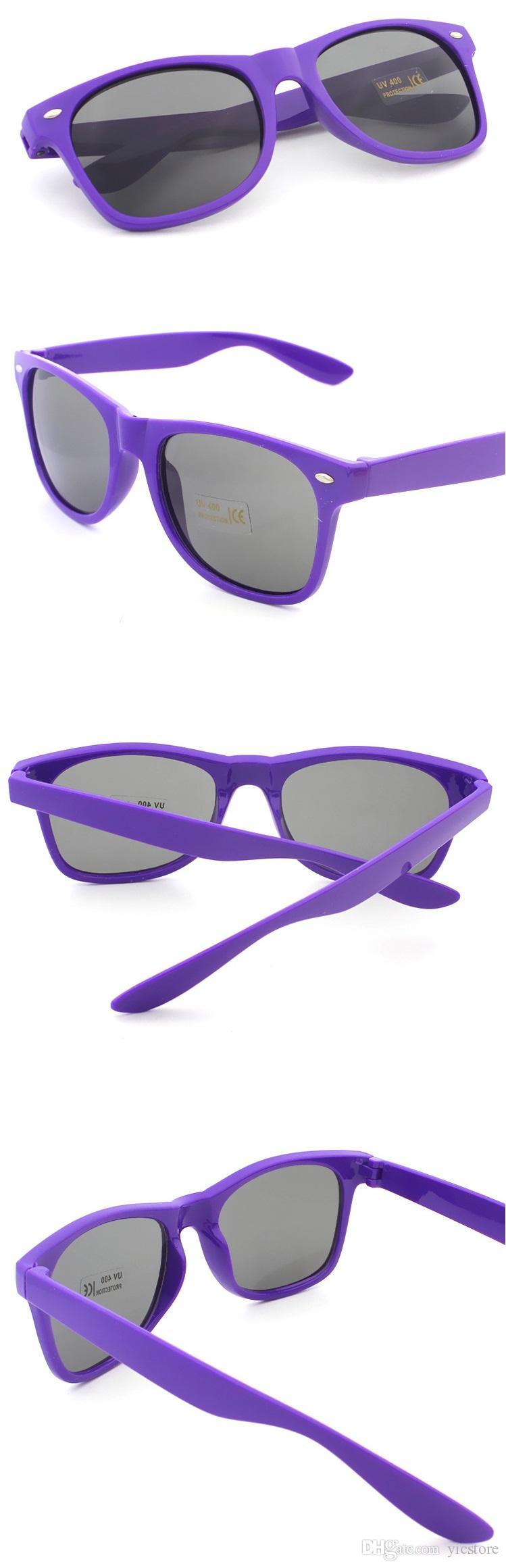 Kadın ve Erkek En Ucuz Modern Plaj Sunglass Plastik Klasik Tarzı Güneş Gözlüğü UV400 Sıcak ücretsiz kargo