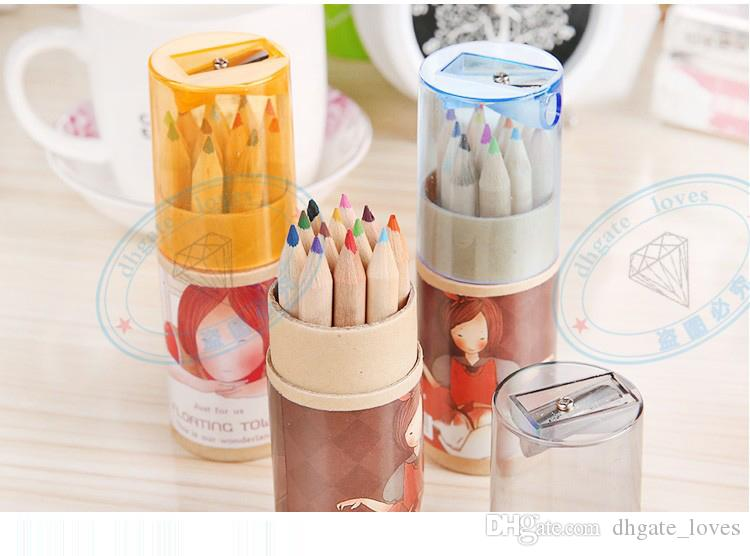 ecret Garden Coloring Pencils Enchanted Forest Painting Pens Colored Pencils Creative Writing Tools Colouring Pencils