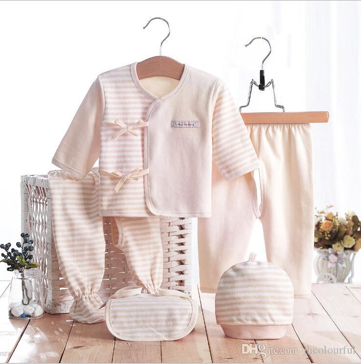 Best 100% Nature Colored Cotton Jersey Baby Layette Sets Gift Sets ...
