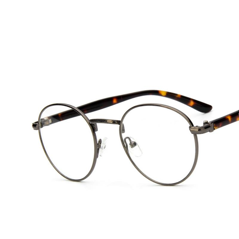 2018 Wholesale Vintage Round Glasses Frame Women Eyewear ...
