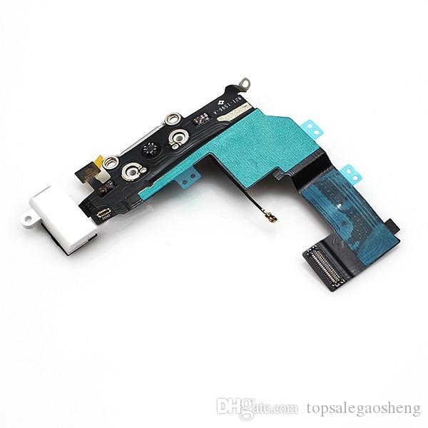 for iPhone 5s 6 6 Plus 6s Plus Dock Connector Charger Charging Port Flex Cable Headphone Audio Jack Replacement Repair Parts 100% Tested