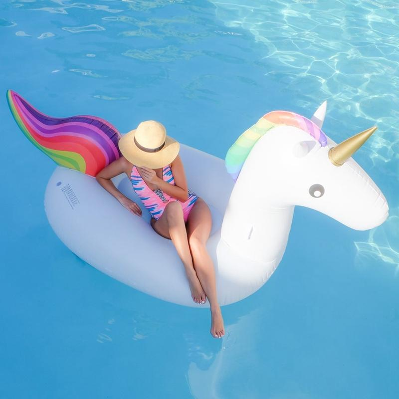 Perfect 2018 Big Inflatable Floats Giant Unicorn Pool Toys 275cm Inflatable  Swimming Pool Ride On Floats Pool Water Toy From Good_spinner, $18.24 |  Dhgate.Com