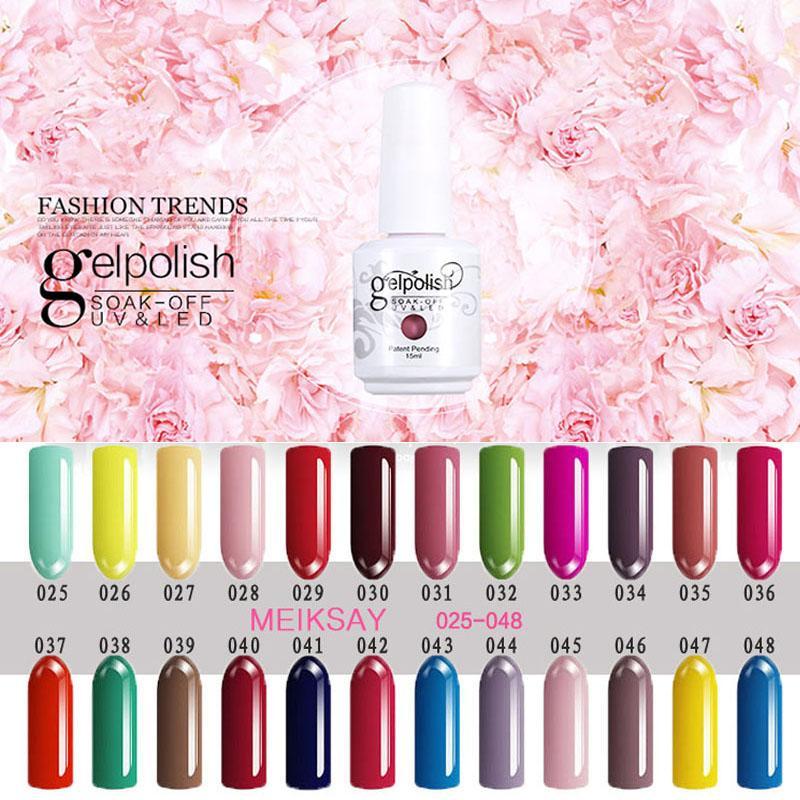 Wholesale Hot 15ml UV Gel Nail Polish Gel Polish Gel Nail Kit Nice ...