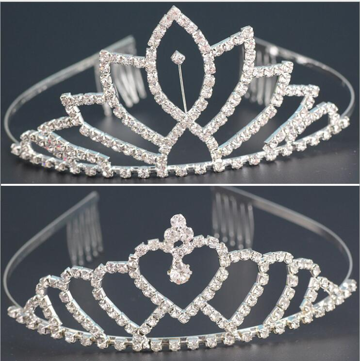 Luxury Wedding Bridal Crystal Tiara Crowns Princess Queen Pageant Prom  Rhinestone Tiara Headband Wedding Hair Accessory Queen Crown Crystal Tiara  Crowns ... 793c0a819825