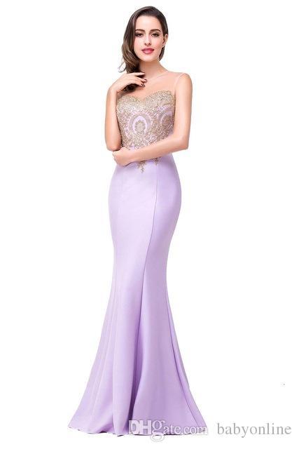 Cheap вечерние платья жемчужины рукава длиной до пола длина лаванды розовый черный burgundy выпускные платья длинные платья выпускного вечера формальные платья партии cps262