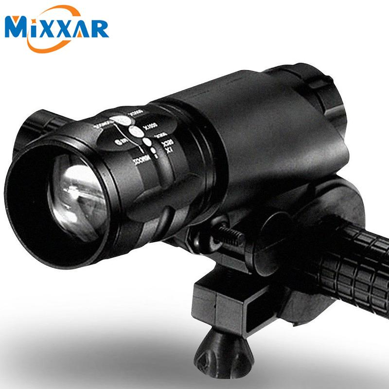 Unique Mini 3 Modes CREE Q5 2300LM LED Flashlight Lamp Front Torch Waterproof Bicycle Light Bike Light Lamp with Torch Holder Bike Light Bicycle Light Led Lovely - Style Of best tactical flashlight Idea
