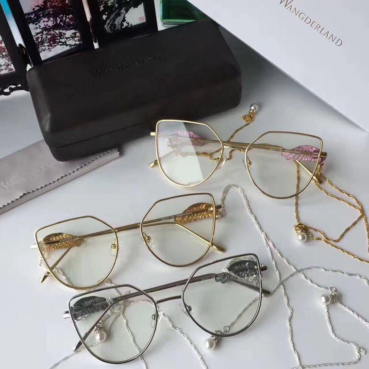 Best 2017 New Wangderland Fashion Retro Eyeglasses Frame Metal ...