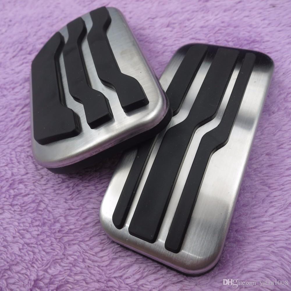 Car Accessories For New Mondeo EDGE AT Fuel Brake Foot Rest Non Slip Pedal Plate,Accelerator Brake Pad Covers Pedal pads styling