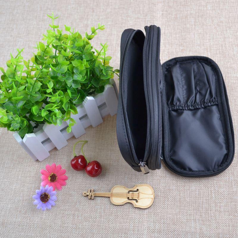 Barrel Shaped Travel Cosmetic Bag Nylon High Capacity Drawstring Elegant Drum Wash Bags Makeup Organizer Storage Bag