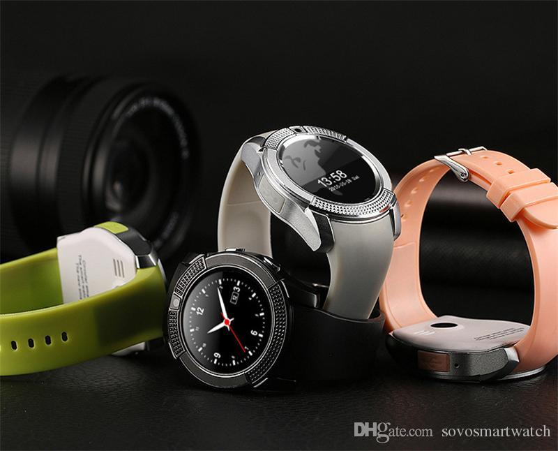 SC06 V8 DZ09 U8 Smartwatch Bluetooth смарт-часы с 0.3 M камеры SIM-карты TF часы для Android S8 IOS смартфон в RetailBox