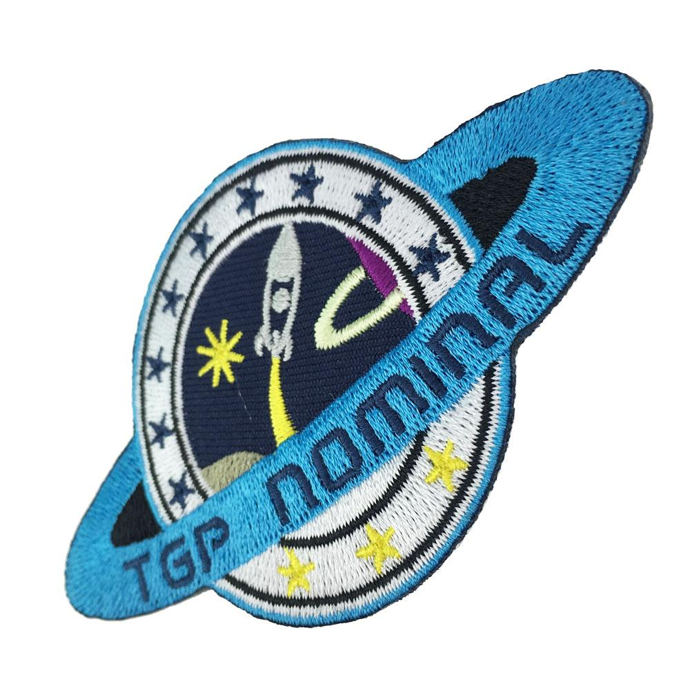 Wholesale Perfect TPG Nominal Embroidery Patch Sew On or Iron On Backing Patches Cool Applique Badge