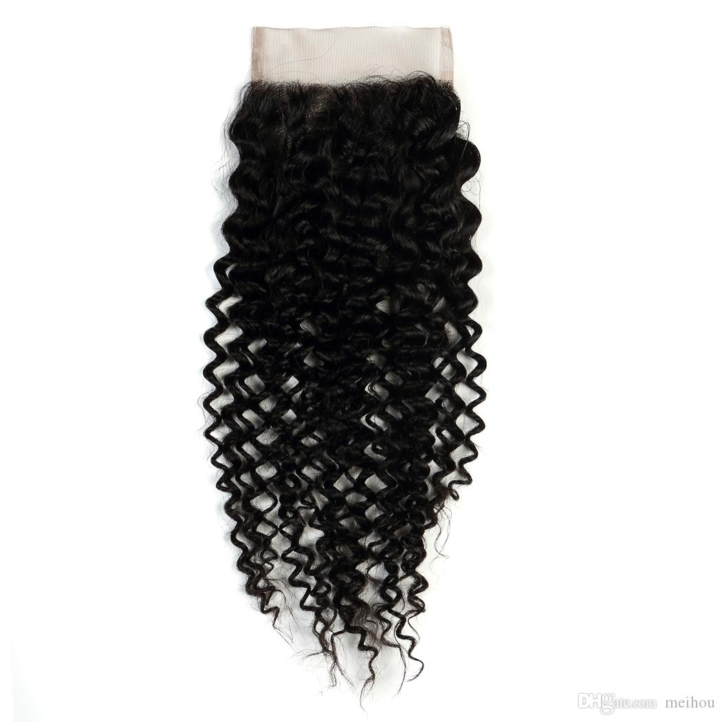 Brazilian Virgin Human Hair Closure Hair For Women, 100%unprocessed Virgin Human Hair Factory Price Fast Shipping