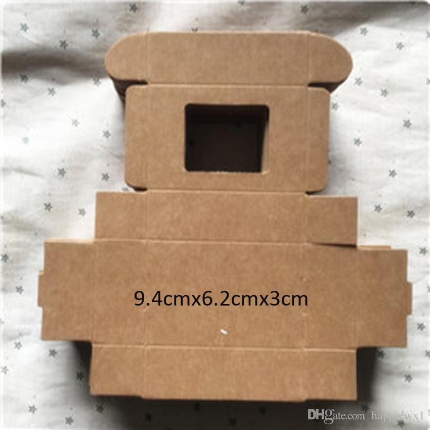 2016 Real Cinta Aislante Sizes Kraft Paper Box Wedding Gift Packaging for Candy Jewelry Handmade Soap Bakery Cake Cookie Chocolate