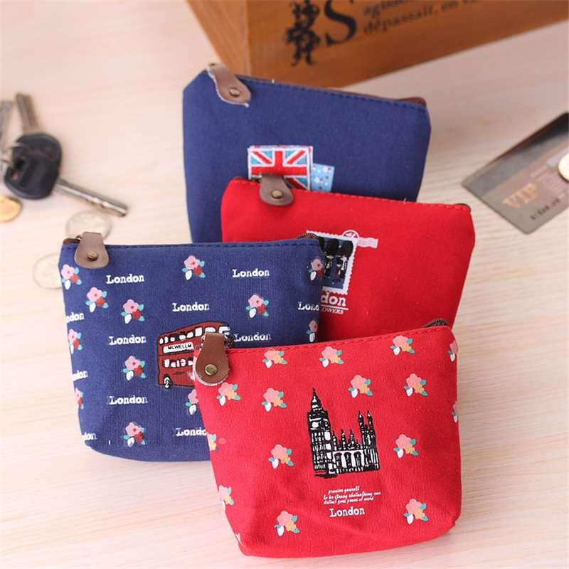 Han edition impression of England zero wallet Lovely fashion coin bag printed cute little bag