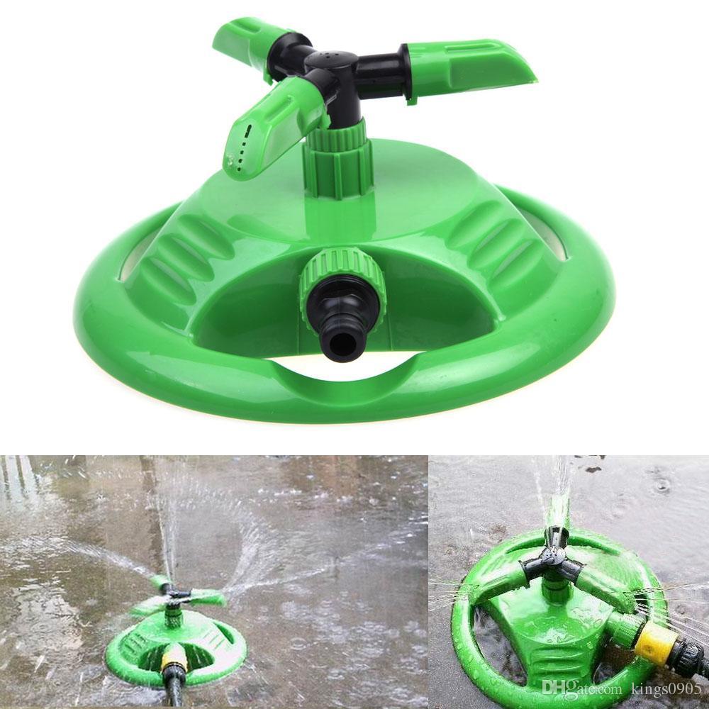 Garten-Plastiksprenger-automatische 360 Grad-drehende Sprinkler-Betriebsblumen-Rasen-Bewässerungs-Bewässerungs-Werkzeuge
