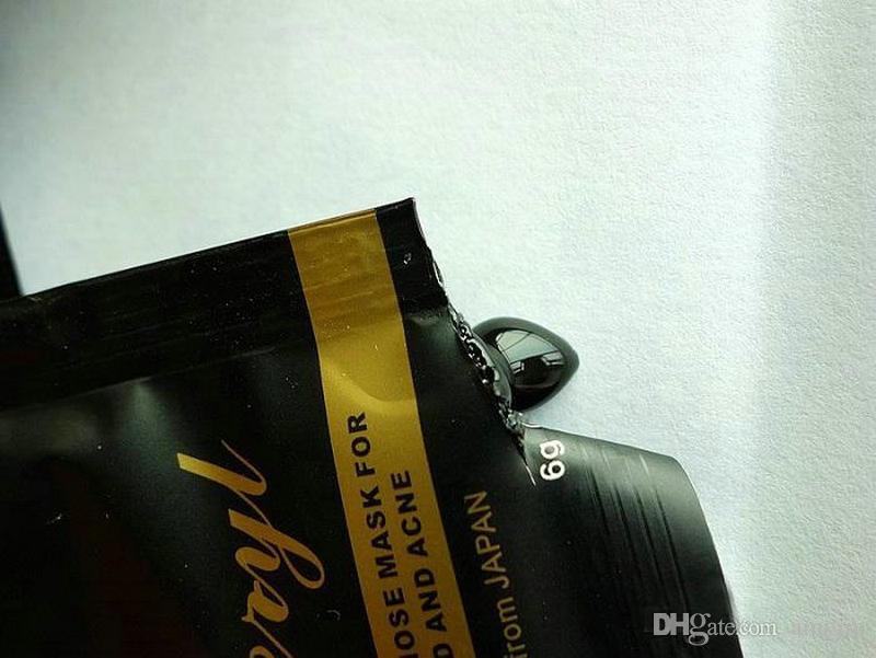 50 ADET DOBERYL Siyah Kafa Maskesi 6g Yüz Bakımı Yüz Siyah Nokta Remover Burun Akne Tedaviler Derin Temizlik Mineral Çamur EX Gözenek Şeritleri Temizleyici
